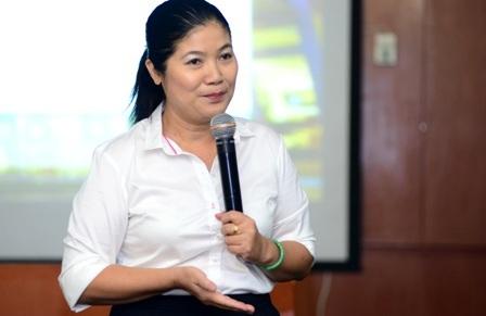 Bà Lưu Thị Thanh Huyền, Phó Giám đốc Bảo hiểm Xã hội, TPHCM