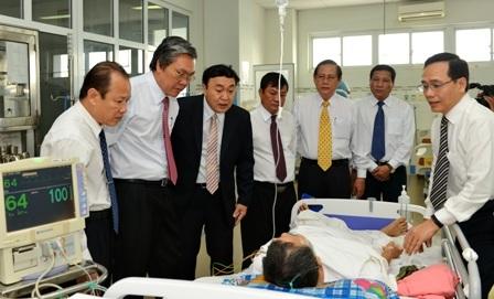Trường hợp được thực hiện thành công kỹ thuật tim mạch can thiệp trong ngày đầu khai trương đơn vị