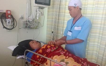 Nạn nhân còn lại trong vụ tai nạn đang được điều trị tại bệnh viện