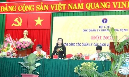 Bộ trưởng Kim Tiến yêu cầu các bệnh viện chấn chỉnh kịp thời những hạn chế khi thuê dịch vụ bên ngoài