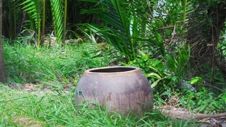 Lu nước không đậy nắp tạo điều kiện thuận lợi cho muỗi sinh sôi, phát triển