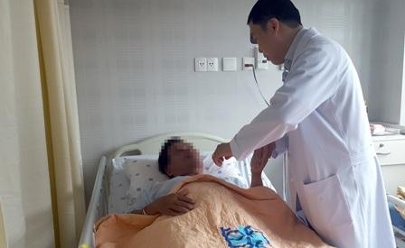 Nam doanh nhân may mắn vượt qua được nguy kịch nhờ nhập viện và can thiệp sớm