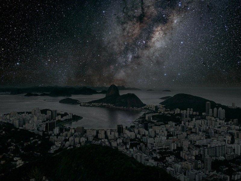 Một góc thành phố Rio de Janeiro, Brazil.