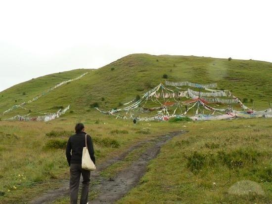Một khu vực điểu táng của người Tây Tạng
