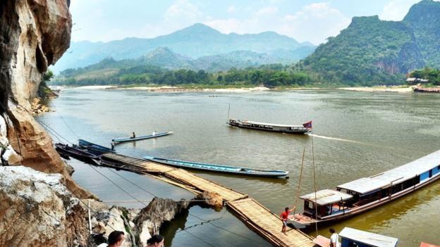 Bức hình được anh chụp lại trong chuyến đi khám phá sông Mekong