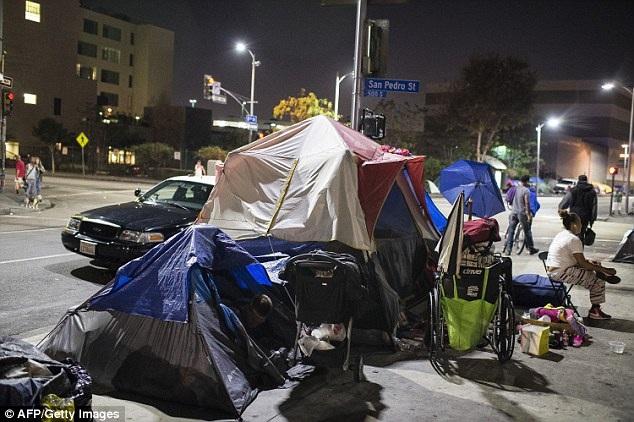 Góc tối của Los Angeles với vấn đề người vô gia cư
