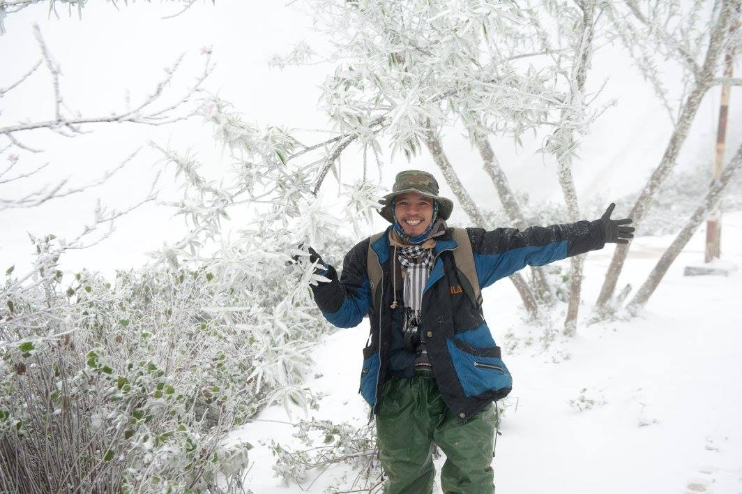"""Nơi """"nóng nhất Việt Nam"""" – huyện Kỳ Sơn, Nghệ An cũng xuất hiện tuyết trắng"""