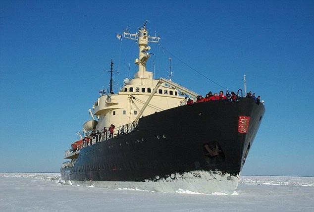 Trải nghiệm trên tàu phá băng Sampo