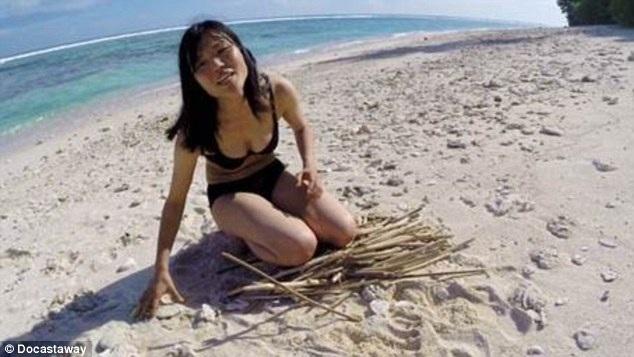 Cô nữ sinh người Nhật 22 tuổi trải nghiệm 19 ngày một mình trên đảo hoang
