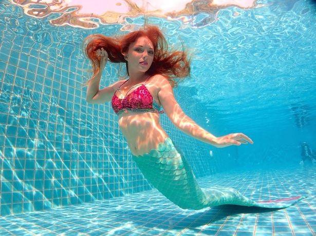 Gặp nàng tiên cá xinh đẹp có thực ngoài đời thường - 2