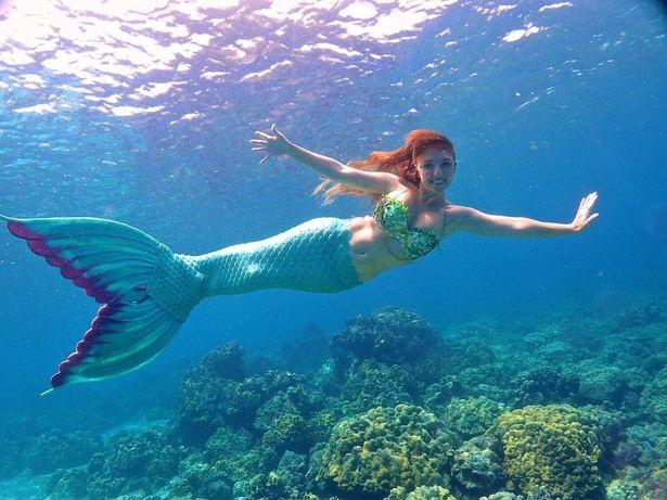 Gặp nàng tiên cá xinh đẹp có thực ngoài đời thường - 4