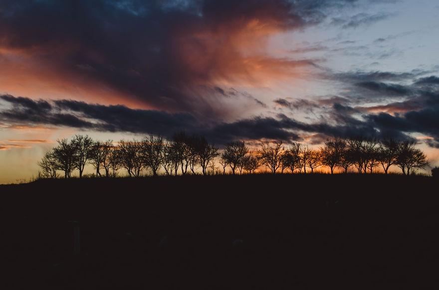 Vẻ đẹp huyền diệu của đất trời dưới ánh hoàng hôn - 5