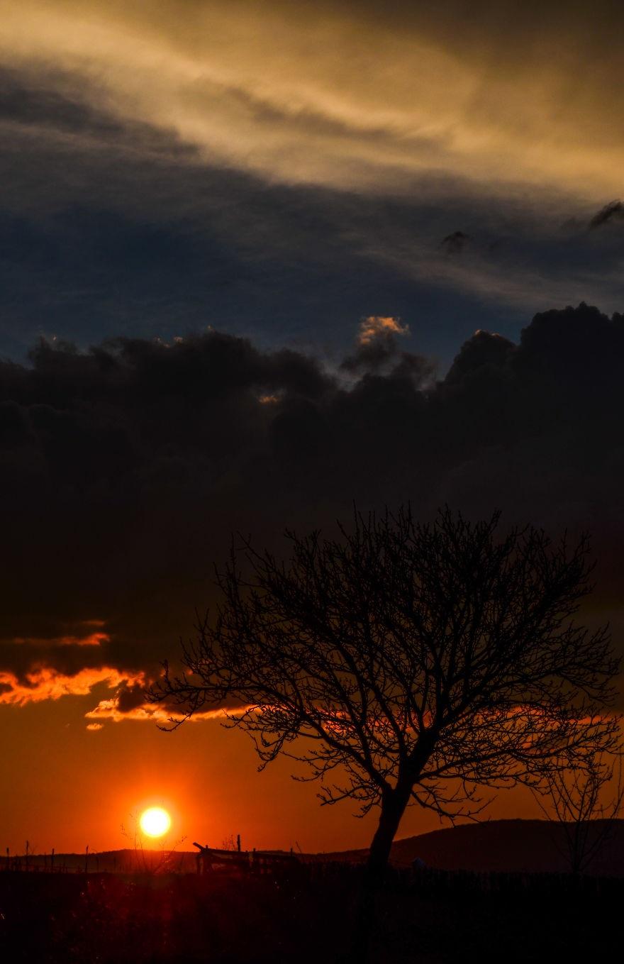Vẻ đẹp huyền diệu của đất trời dưới ánh hoàng hôn - 10