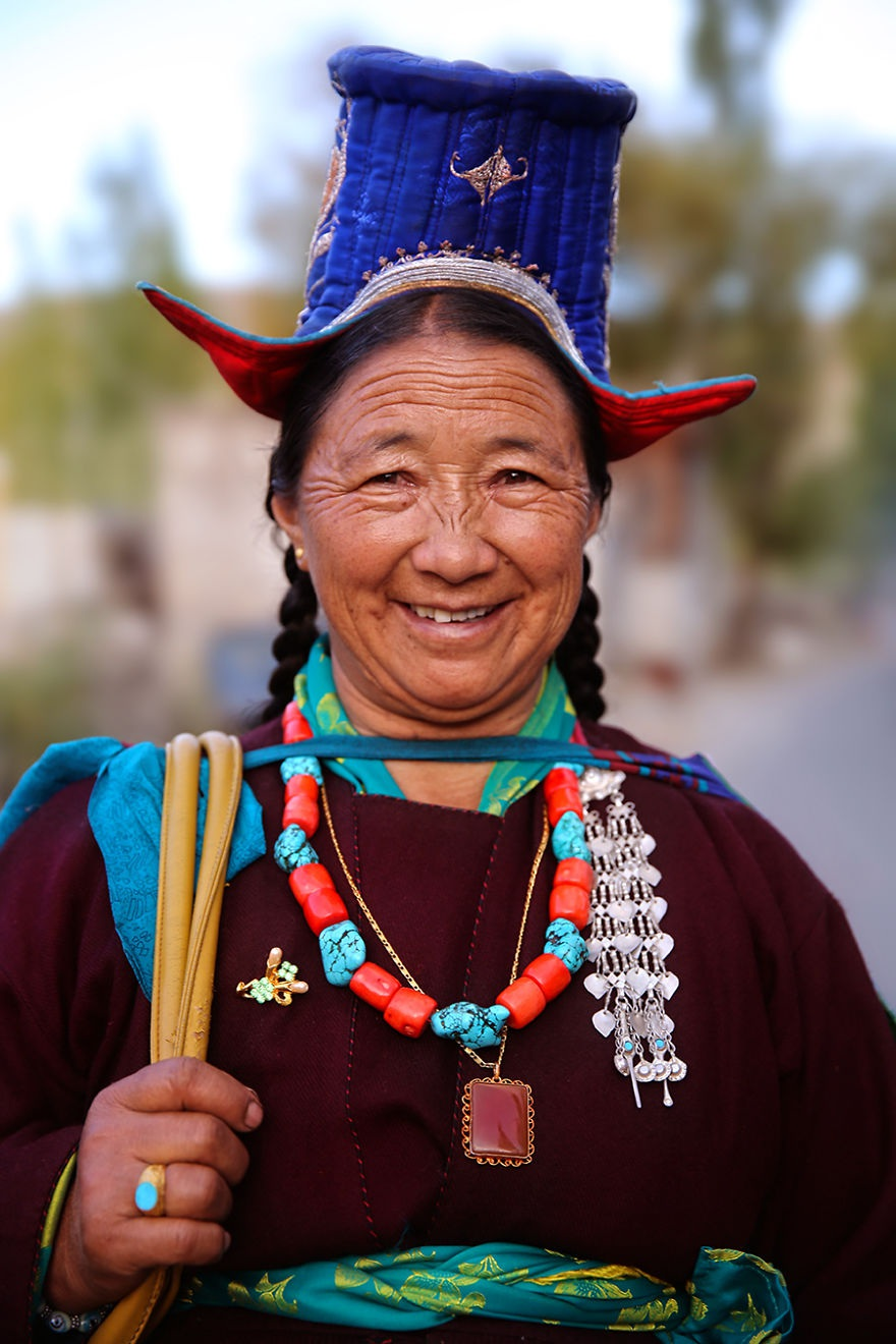 Người phụ nữ Ladakhi