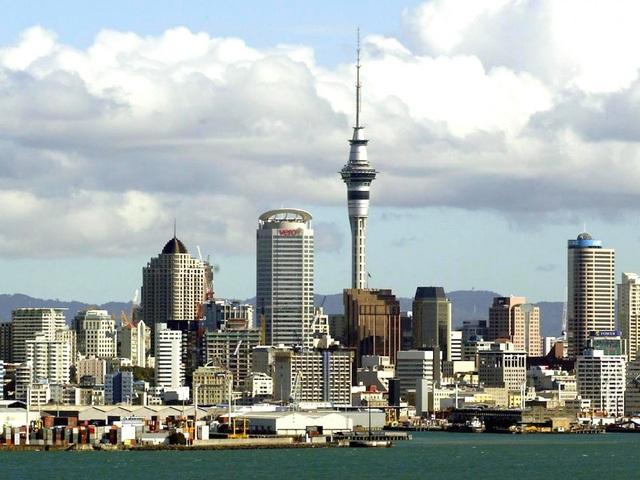 Auckland, New Zealand - thành phố được xây dựng gần hai hải cảng lớn được biết đến với sự phát triển về kinh tế, môi trường trong sạch và mức sống cao.
