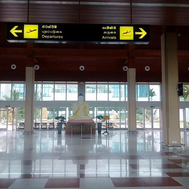 Sảnh trung tâm sân bay