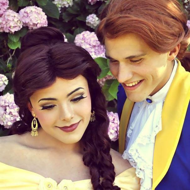 Chàng trai có khả năng hóa trang điêu luyện thành công chúa xinh đẹp - 7