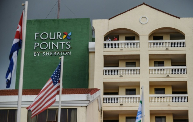 Khách sạn Sheraton ở Havana mang thương hiệu Mỹ