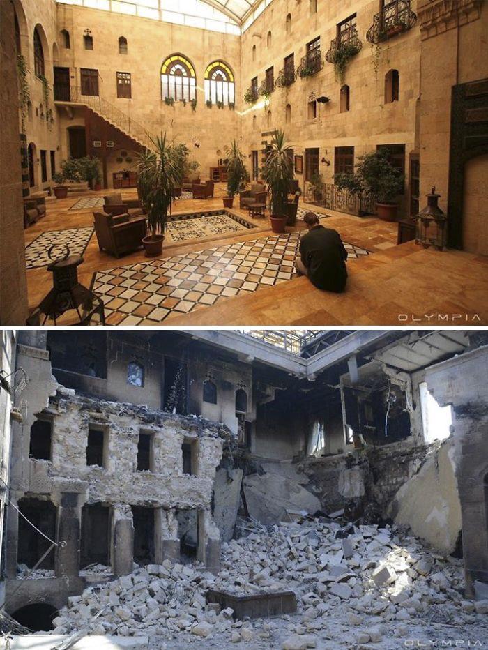 Sức tàn phá của chiến tranh khiến nhiều di sản thế giới chỉ còn đống gạch vụn