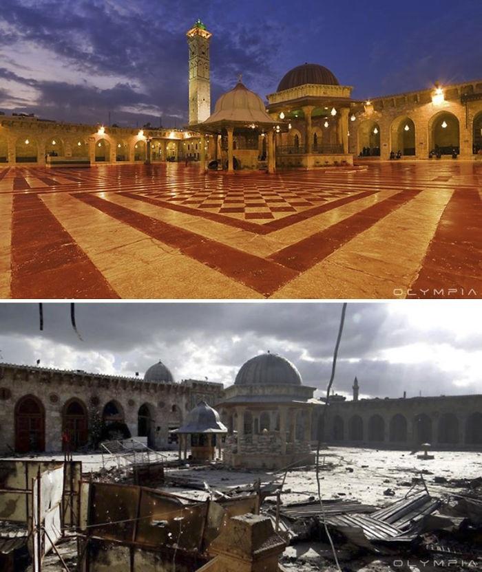 Những công trình kiến trúc hàng ngàn năm tuổi chỉ còn là đống đổ nát