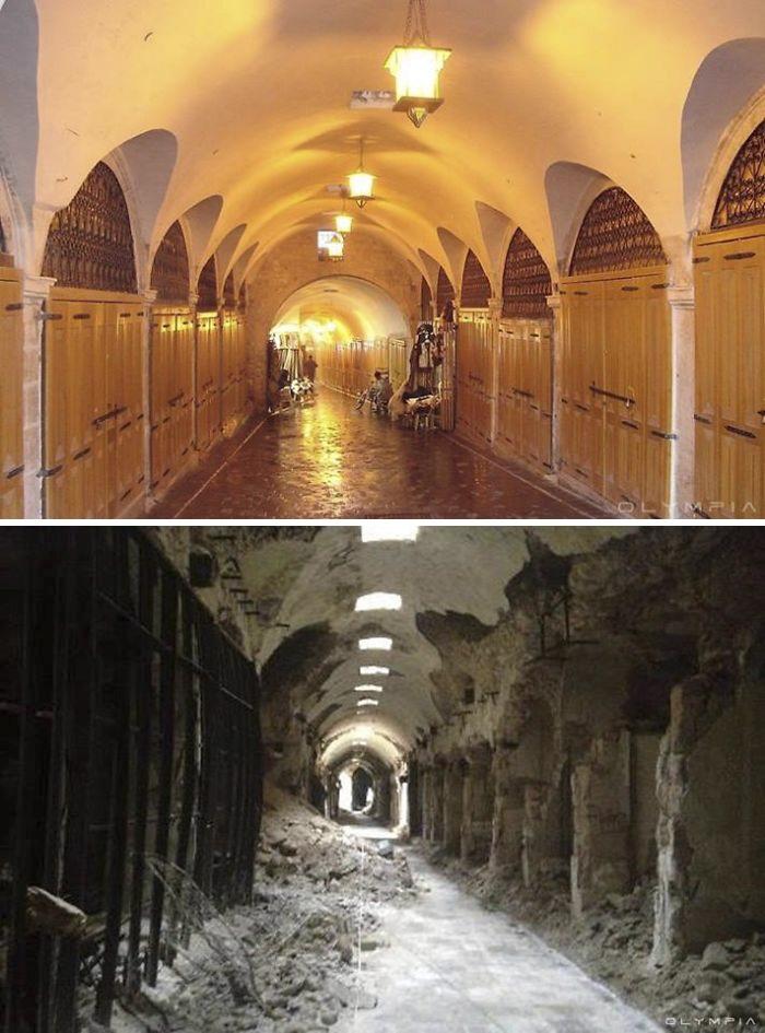 Lặng người nhìn các điểm du lịch ở Syria trước và sau chiến tranh - 4