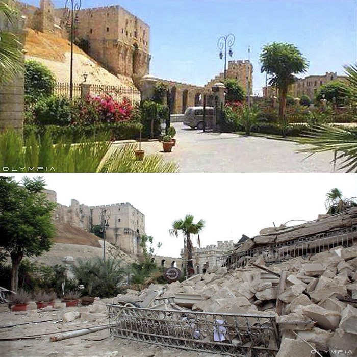 Lặng người nhìn các điểm du lịch ở Syria trước và sau chiến tranh - 8
