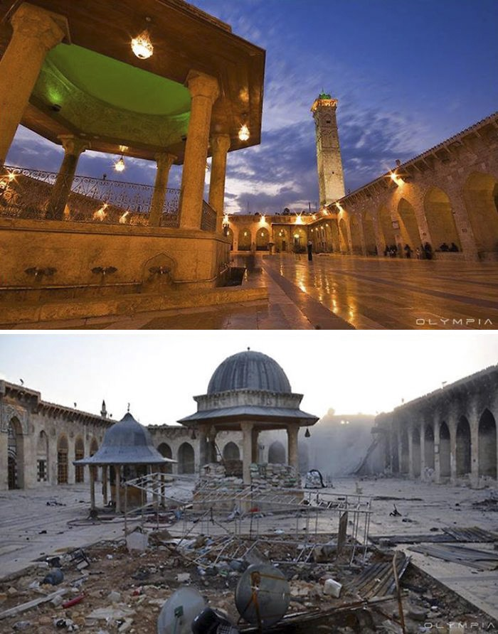 Lặng người nhìn các điểm du lịch ở Syria trước và sau chiến tranh - 6
