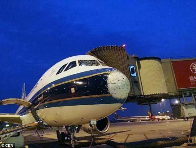 Hiện máy bay đang trong giai đoạn sửa chữa và bảo dưỡng