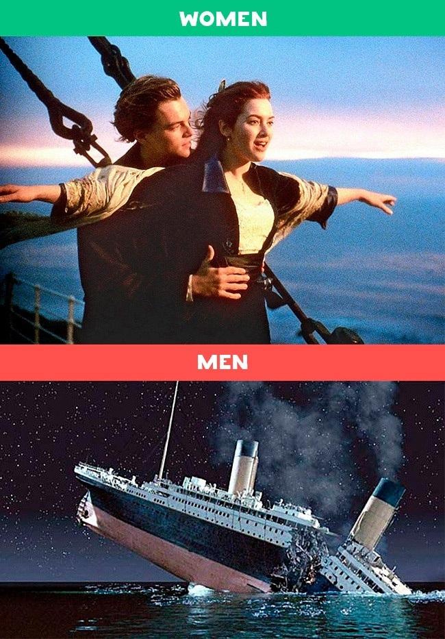 Lý do họ xem Titanic.