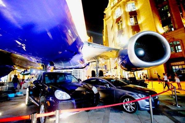 Nhà hàng được thiết kế bên trong một chiếc máy bay thương mại đã ngưng hoạt động
