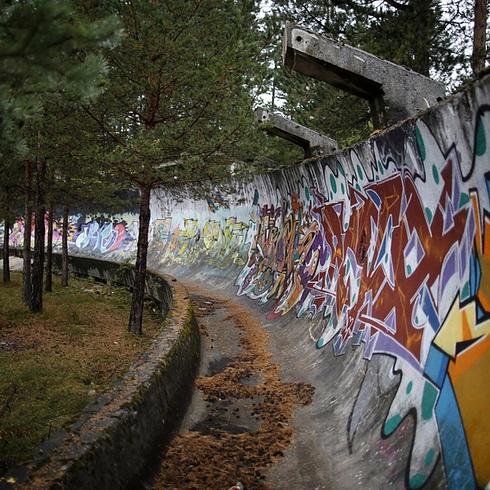 Đến nay, các công trình đã bị tàn phá do bom đạn chiến tranh Bosnia vào những năm 90 của thế kỷ trước.