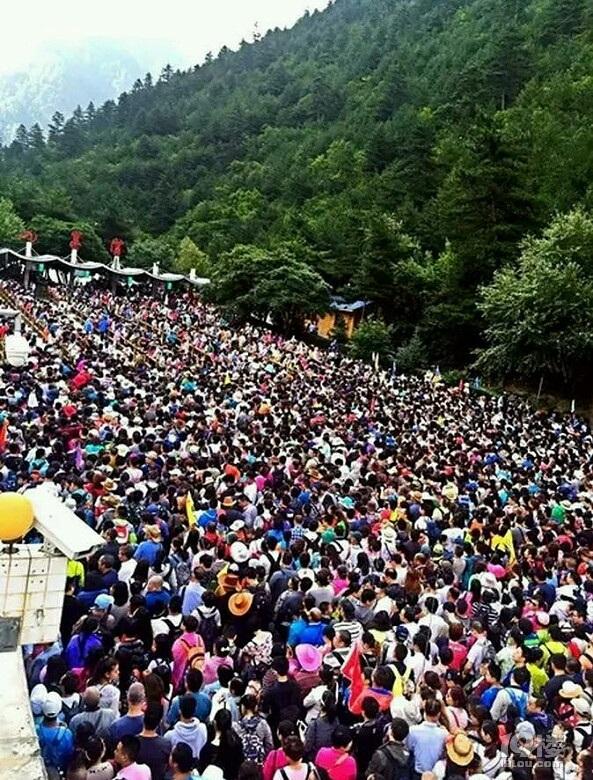 """""""Thiên đường hạ giới"""" nổi tiếng bậc nhất Trung Quốc đông nghẹt thở - 5"""