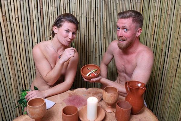 Nhà hàng nude Bunyadi ở London
