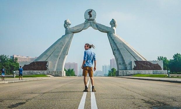 Anh khám phá hầu khắp các điểm du lịch nổi tiếng tại Bình Nhưỡng