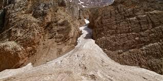 Sông băng bí ẩn giữa sa mạc khô cằn - 1