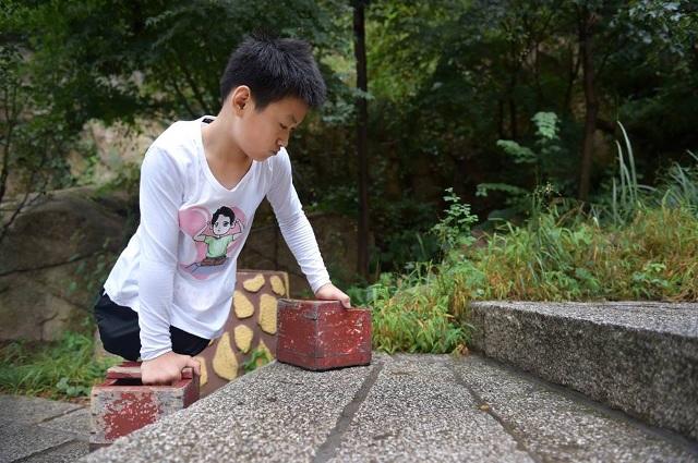 Dân mạng xúc động hình ảnh cậu bé 11 tuổi cụt 2 chân vẫn chinh phục núi cao - 6
