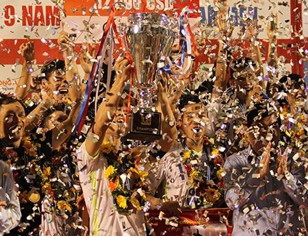 HA Gia Lai hiện là đội bóng có lượng người hâm mộ lớn nhất nước (ảnh: Trọng Vũ)