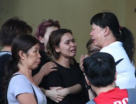 Nước mắt tiễn đưa vận động viên Hoàng Hà Giang - 7