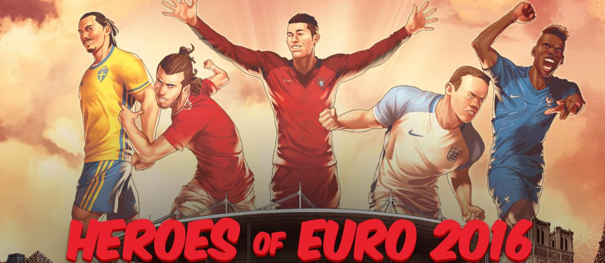5 ngôi sao bóng đá dự đoán là sáng nhất Euro 2016, được ví với các nhân vật Siêu anh hùng của Marvel