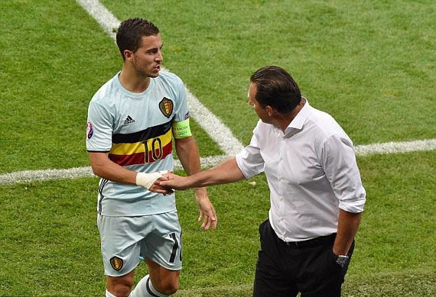 Eden Hazard (Bỉ) cũng không đáp ứng được sự kỳ vọng