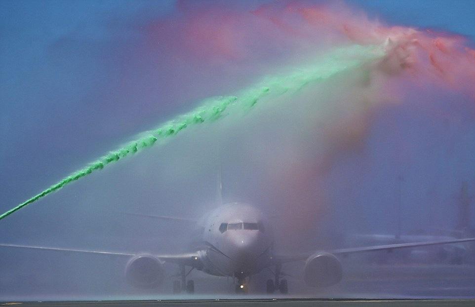 Nghi thức đón đội tuyển Bồ Đào Nha về nước thậm chí bắt đầu ngay từ khi các thành viên của đội chưa rời khỏi máy bay
