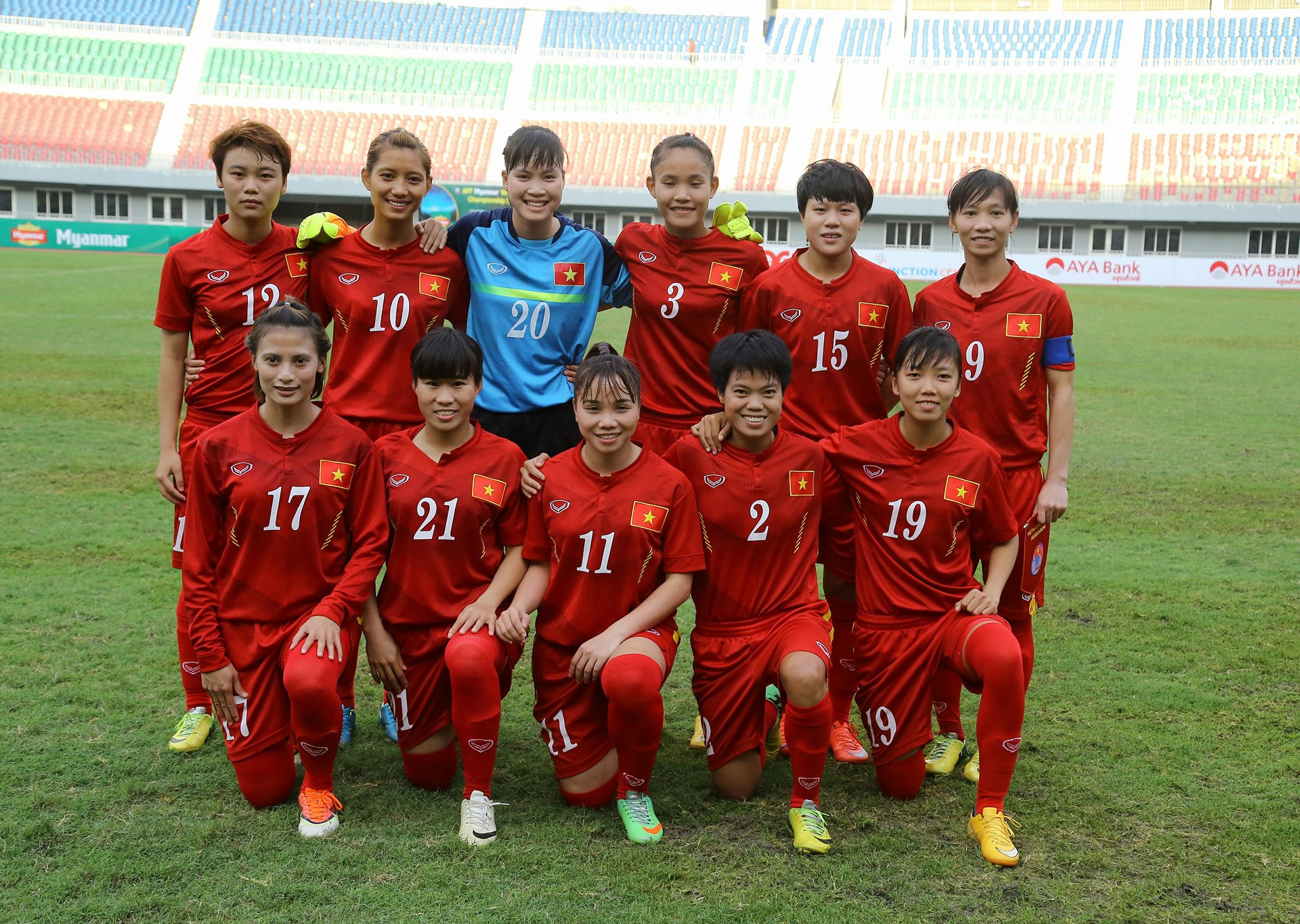 Đội tuyển nữ Việt Nam sẽ đối diện với áp lực từ khán giả Myanmar trong trận bán kết