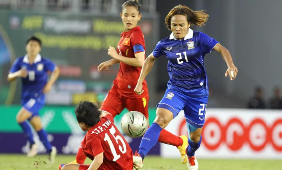 Trình độ của đội tuyển nữ Việt Nam và Thái Lan hiện ngang nhau