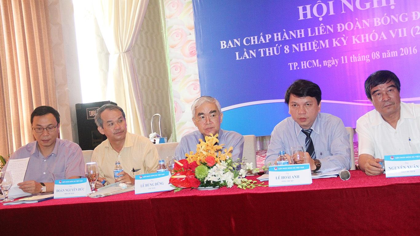 Theo thông báo của VFF, có 22/23 uỷ viên BCH có mặt, chứng tỏ tầm quan trọng của cuộc họp này