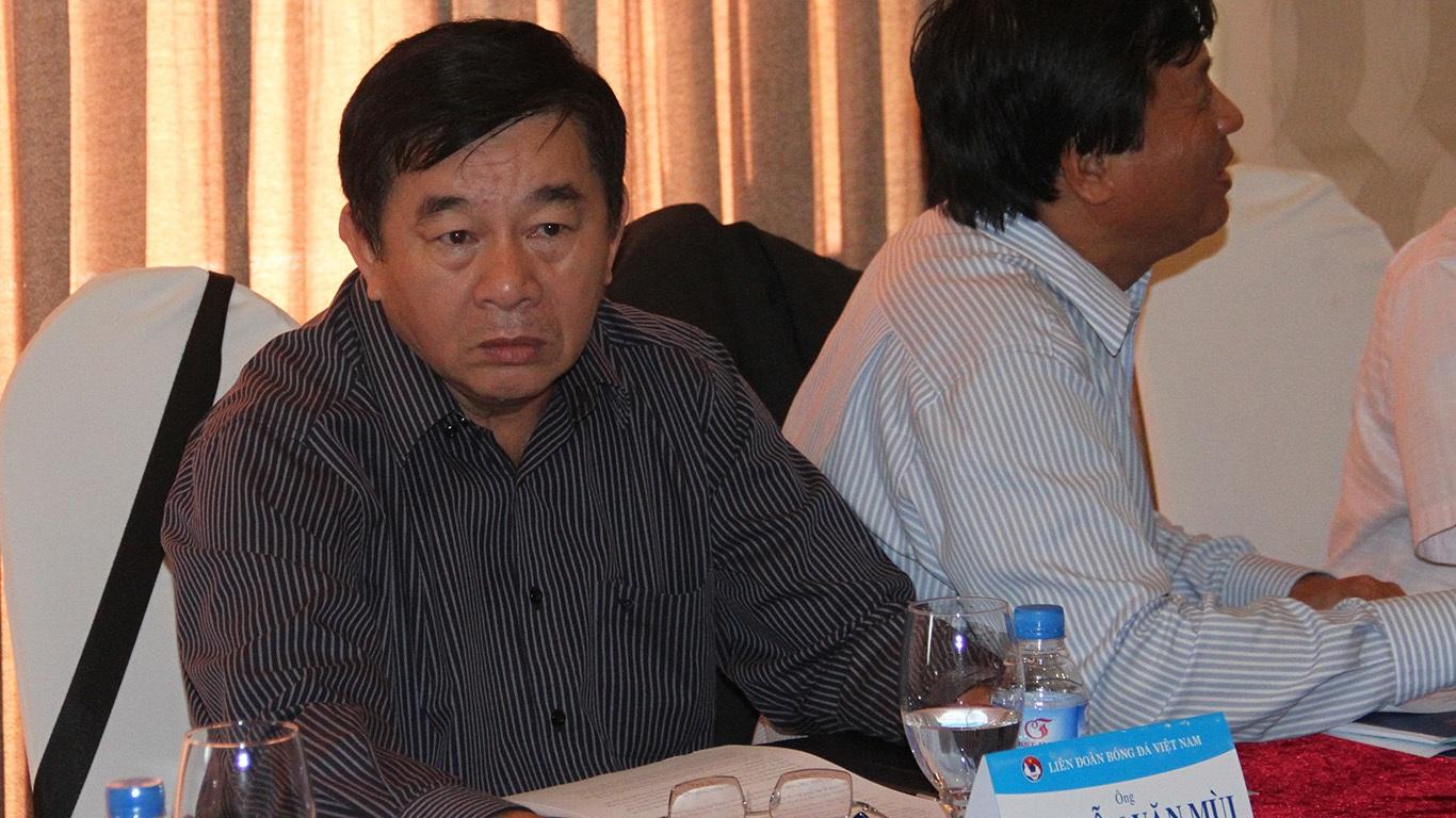 Ông Nguyễn Văn Mùi vẫn giữ vị trí trưởng Ban trọng tài VFF (ảnh: Trọng Vũ)
