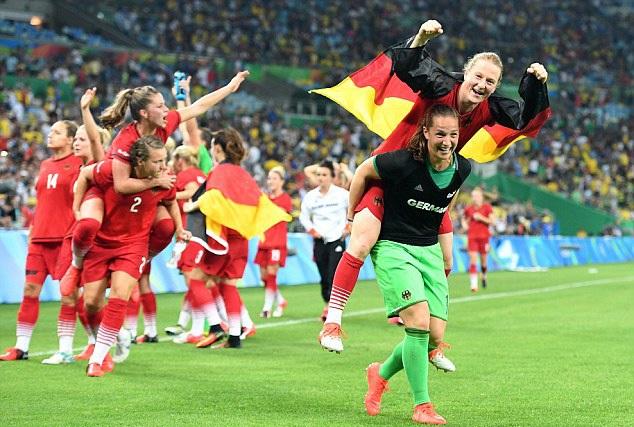 Đánh bại Thuỵ Điển, Đức trở thành nhà vô địch Olympic