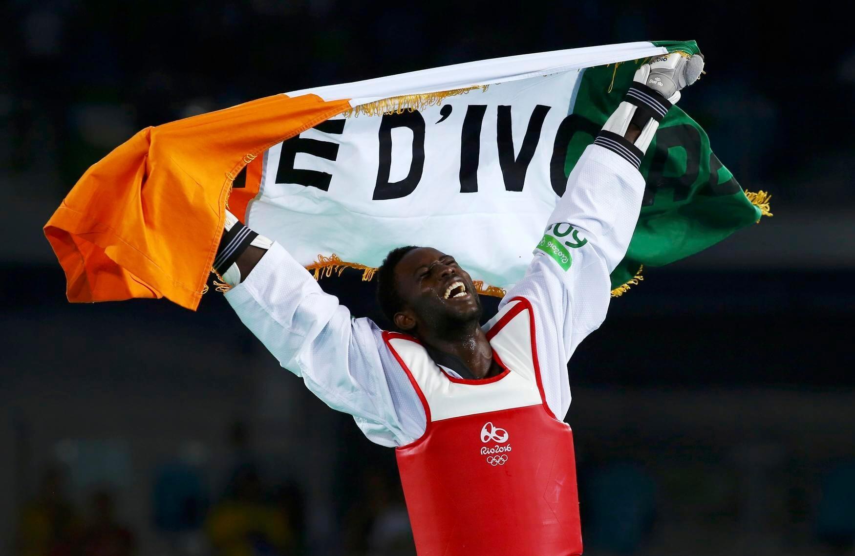 Cisse giúp Bờ Biển Ngà có HCV Taekwondo đúng vào giây cuối cùng ở trận chung kết hạng 84kg nam
