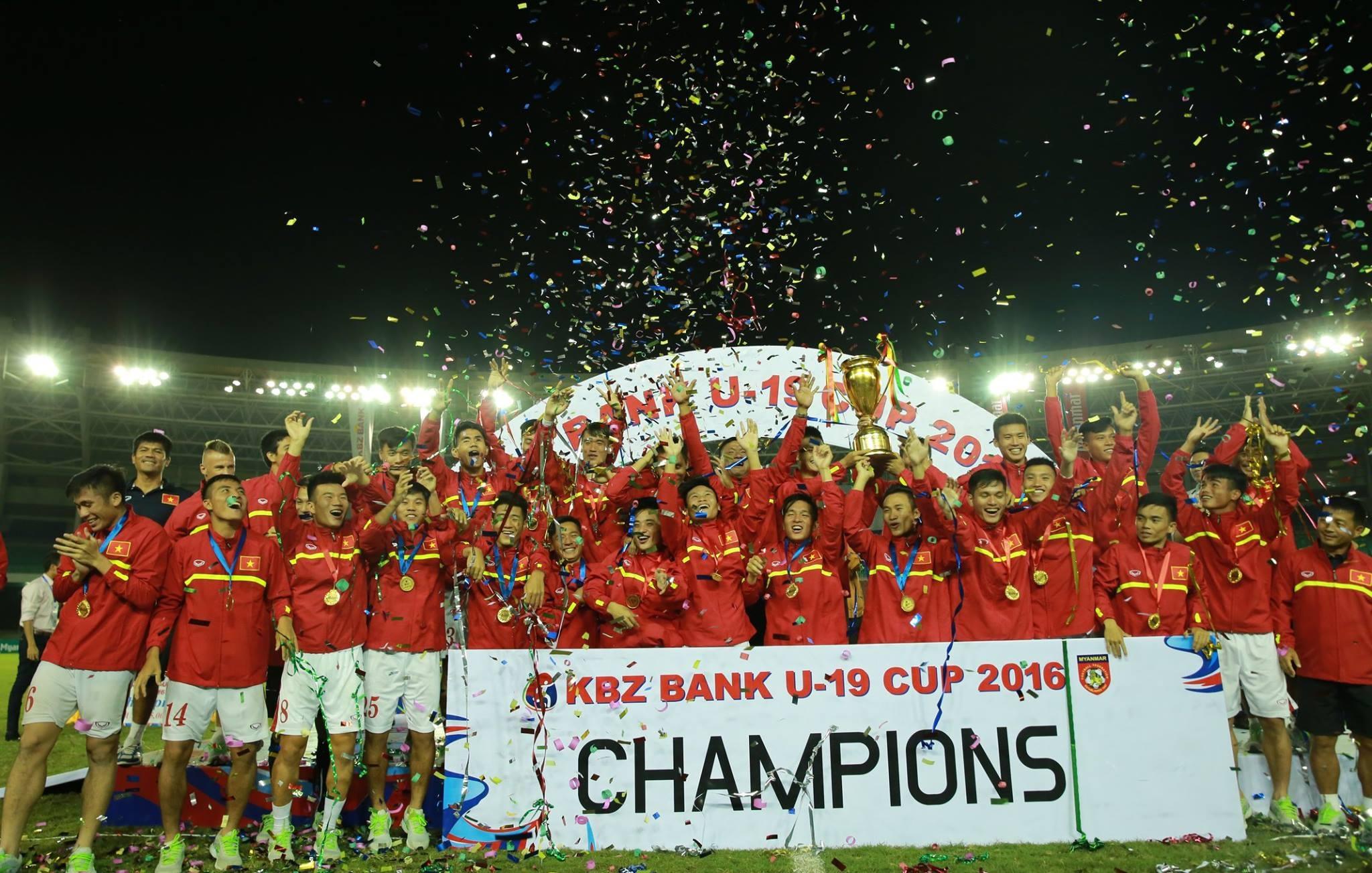 Đội bóng của HLV Hoàng Anh Tuấn đang trên đường hướng đến VCK U19 châu Á 2016