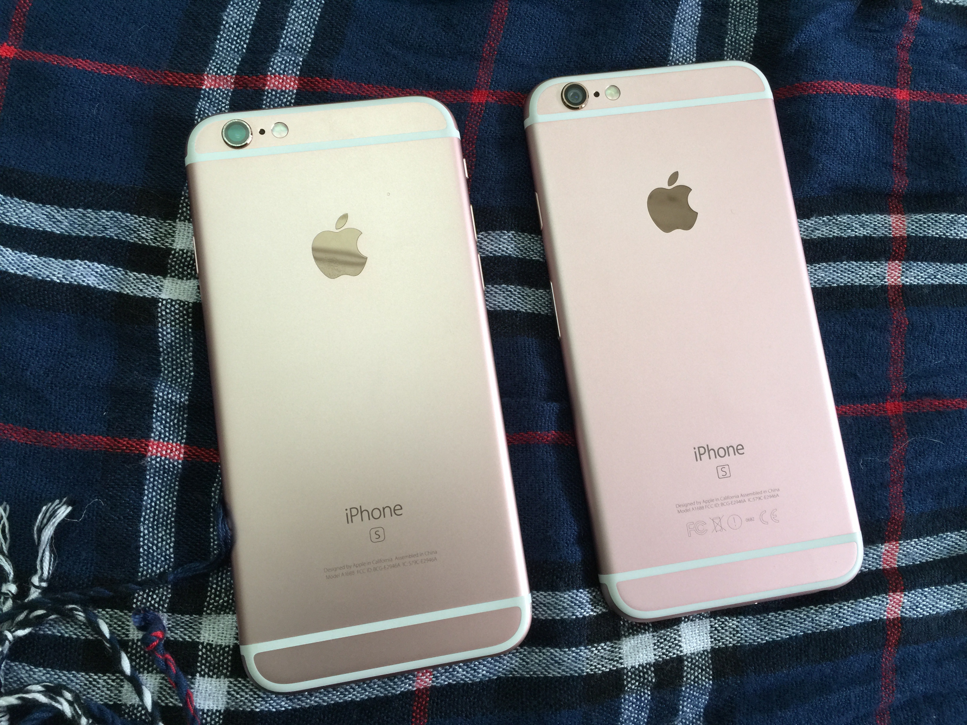 Người tiêu dùng thông thường khó phân biệt iPhone 6 và iPhone 6s.