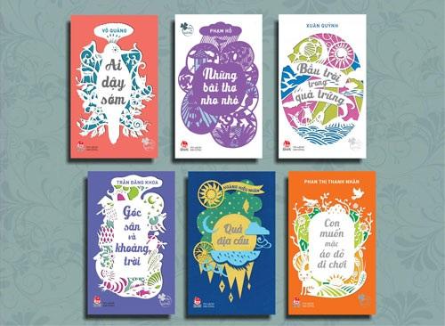 Nhiều tập thơ quen thuộc với các thế hệ thiếu nhi được tái bản ra mắt nhân dịp Ngày Thơ Việt Nam
